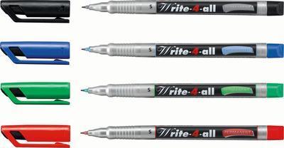 Stabilo Write-4-all, Permanent fix  0,4 mm  - sada 4 ks - 2
