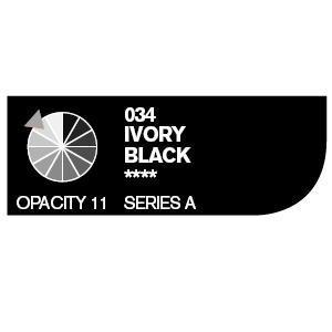 Daler & Rowney Cryla A 75 ml - ivory black 034 - 2