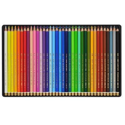 Polycolor Sada pastelek - 36 ks v plechu - 2