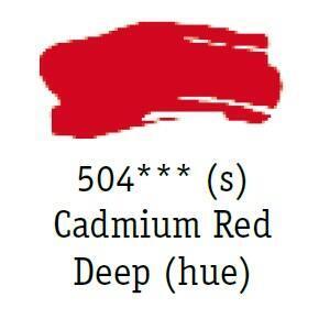 Daler & Rowney - System 3 Original - cadmium red deep 504 - tuba 75 ml - 2