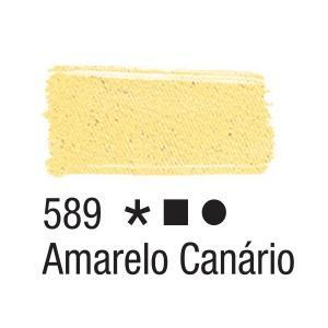 Acrilex Barva na textil 37ml - kanárkově žlutá 589 - 2