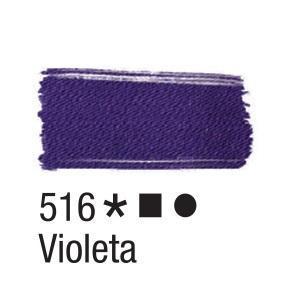 Acrilex Barva na textil 37ml - metalická fialová 516 - 2