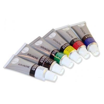 Daler & Rowney Simply Gouache Sada kvašových barev - 6x12ml - 2