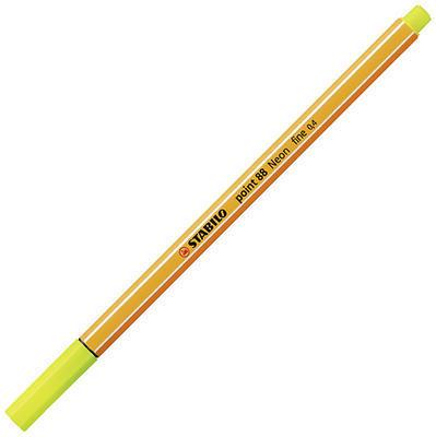 Stabilo point 88/024 - fluorescentní žlutá - 0,4 mm - 2