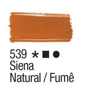 Acrilex Barva na textil 37ml - raw sienna 539 - 2