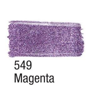 Acrilex Barva na textil 37ml - metalická magenta 549 - 2