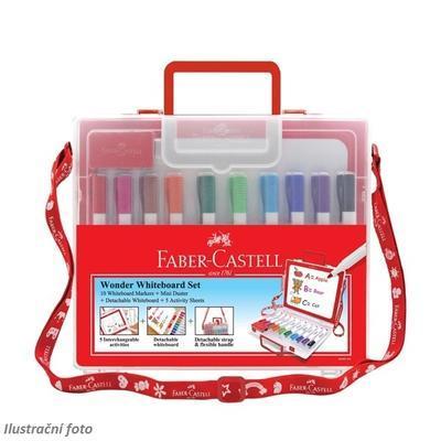 Faber-Castell Slim Wonder Whiteboard Set - 10 ks popisovačů v plastovém kufříku - 2
