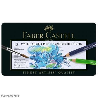 Faber-Castell Albrecht Dürer Akvarelové pastelky - 12 ks v kovové etui - 2