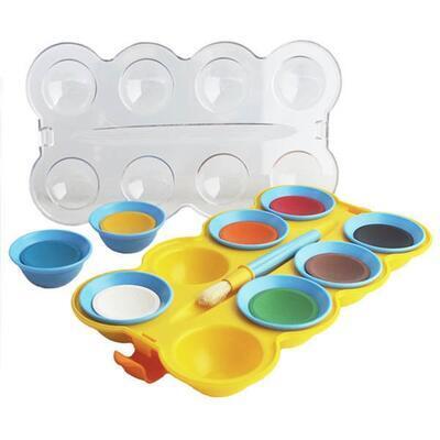 Pelikan Vodové barvy - mini friends 8 barev+štětec     - 2
