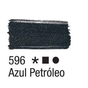 Acrilex Barva na textil 37ml - petrolejová 596 - 2