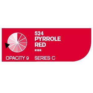 Daler & Rowney Cryla C 75 ml - pyrrole red 524 - 2