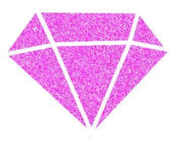 Diamantová barva 80 ml - fuchsiová - 2