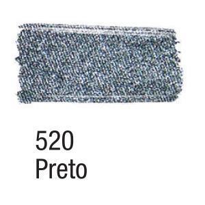 Acrilex Barva na textil 37ml - metalická černá 520 - 2