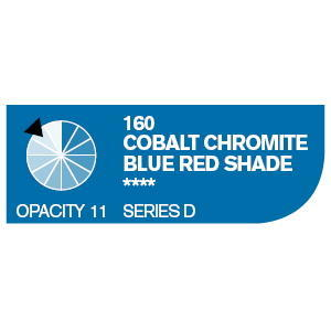 Daler & Rowney Cryla D 75 ml - cobalt chromite blue red shade 160 - 2