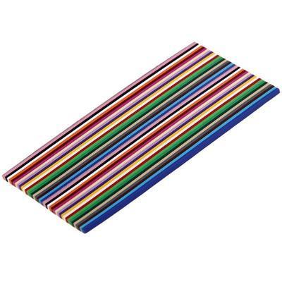Papírové proužky barevný mix - 400 ks, 160x3mm - 2