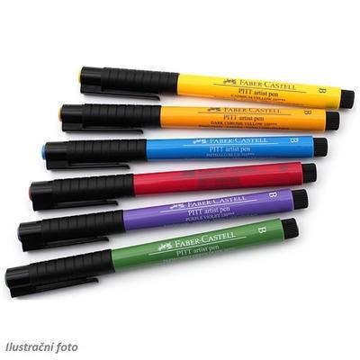 Faber-Castell PITT Artist Pen Brush - Basic 6 ks - 2