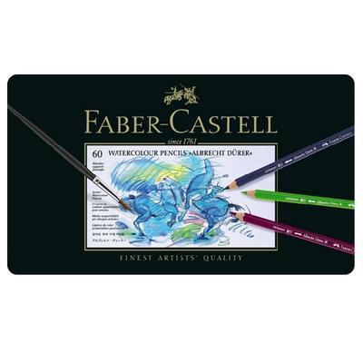 Faber-Castell Albrecht Dürer Akvarelové pastelky - 60 ks v kovové etui - 2
