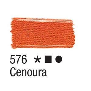 Acrilex Barva na textil 37ml - mrkvová 576 - 2