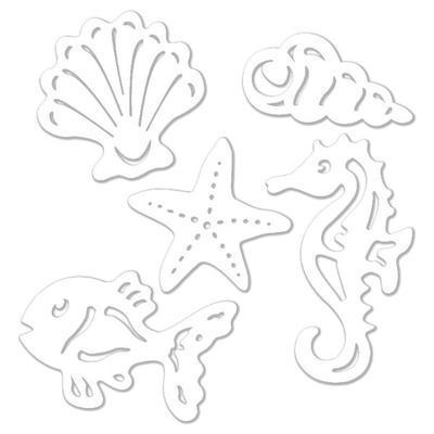 Výřez - Mořská sada, A5, 7ks - 2