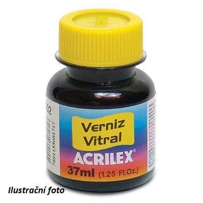Vitrážová barva ACRILEX 37ml - Black - 2