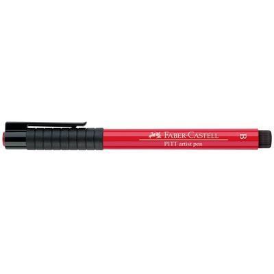 Faber-Castell PITT Artist Pen B - červená pelargonie č. 121 - 2