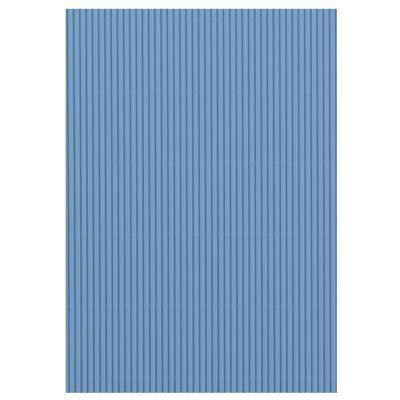 Karton vlnitý 50x70cm, 300g/m2 - světle modrý  - 2