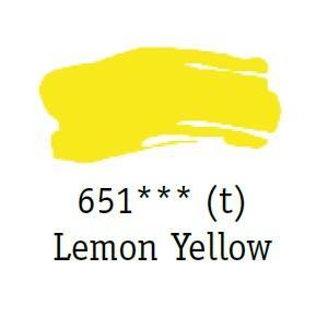 Daler & Rowney - System 3 Original - lemon yellow 651 - tuba 75ml - 2
