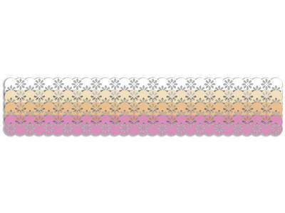 Výřez Bordura - Květina 2, mix 2 - 2
