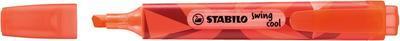 Stabilo Swing Cool ColorMatrix  Zvýrazňovač - červený - 2