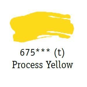 Daler & Rowney - System 3 Original - process yellow 675 - tuba 75 ml - 2