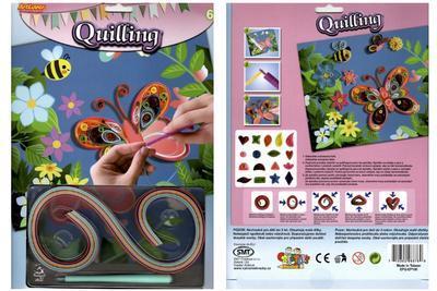 Quilling - koníček, labuť, motýl - 2
