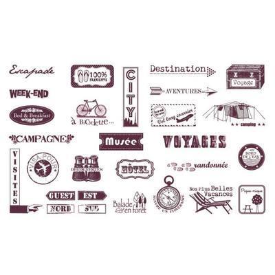 StampoScrap - Cestovní nápisy - 2