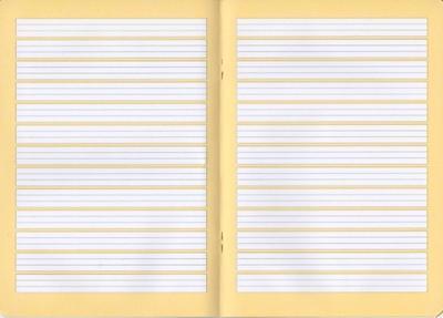 Sešit Herlitz  A5, 80g/m2 - vodící linky 2, 16 listů - 2