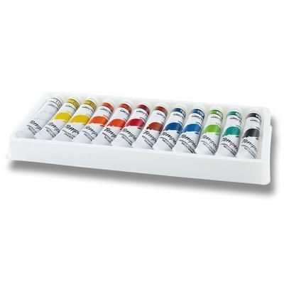 Aero Temperové barvy v kovové krabičce sada 12x7 ml Tygřík - 2