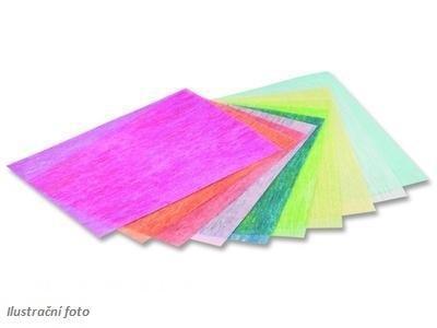 Dekorativní hedvábný, průsvitný papír - 23x33cm, 10 barev   - 2