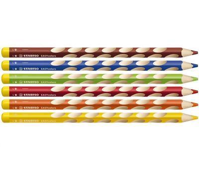 Stabilo EASYcolors 331/6 Pastelky pro leváky  Sada 6 ks - 2