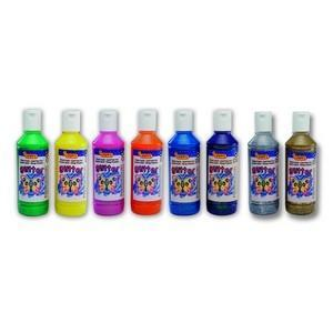Jovi Temperové barvy glittrové 250 ml - žlutá - 2