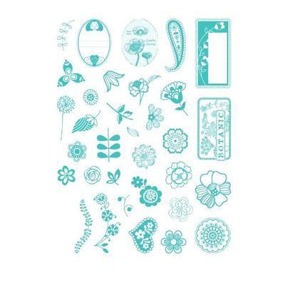 StampoScrap - Kytičky a ornamenty - 2
