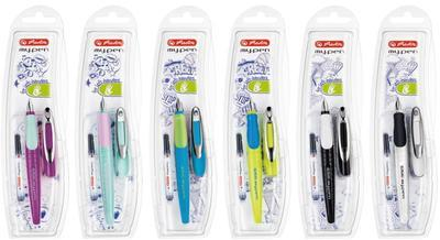 """Herlitz Bombičkové pero My.Pen - hrot """"L"""" - mix barev   - 2"""