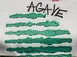 Izink pasta 3D, 75 ml - Agave, perleťová tmavě zelená - 2