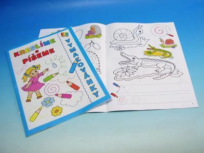 Omalovánky A4 - Kreslíme a píšeme - 2