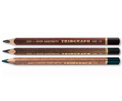 Tužky grafitové Triograph - 2B, 4B, 6B - 2