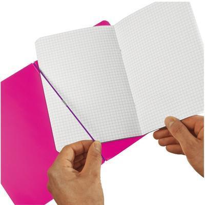 Sešit Flex A4, 2x40 listů - růžový - 2
