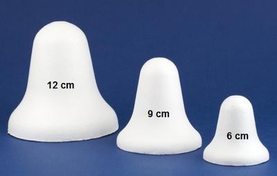 Zvonek polystyrenový - 9 cm - 2