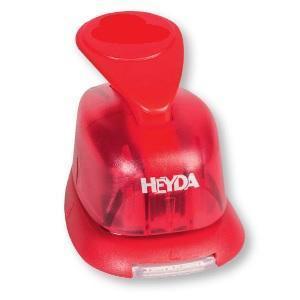 Děrovač červený 15mm - Květ - 2