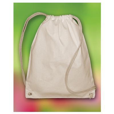Bavlněný batoh 140 g/m2, 37x48 cm - natur - 2