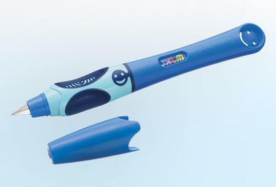 Pelikan Bombičkové pero Griffix 4 pro praváky - světle/tmavě modré - 2