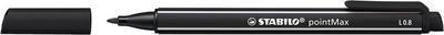 Stabilo Point Max - černá 0,8 mm - 2