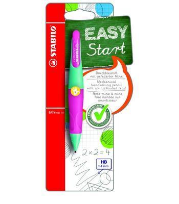 Stabilo EASYergo Versatilka 1,4 mm - růžová/tyrkysová pro leváky - 2