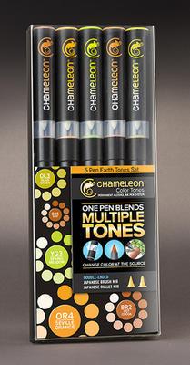 Chameleon Color Tones - 5 ks, Earth Tones - 2
